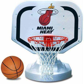 Poolmaster Miami Heat NBA USA Competition-Style Poolside Basketball Game
