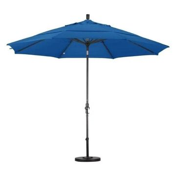 California Umbrella 11' Patio Umbrella in Pacific Blue