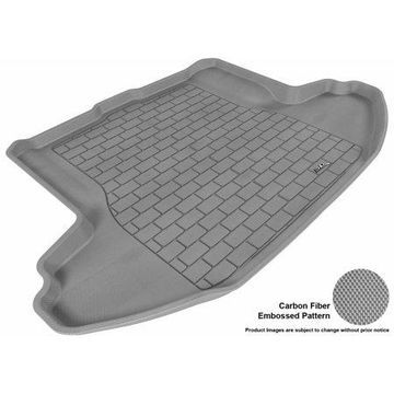 3D MAXpider 2010-2014 Subaru Legacy All Weather Cargo Liner in Gray with Carbon Fiber Look