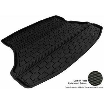 3D MAXpider 2012-2015 Honda Civic Sedan All Weather Cargo Liner in Black with Carbon Fiber Look