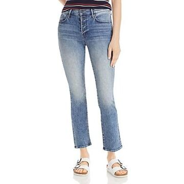 Mother The Pixie Insider Ankle Jeans in Group Bathing