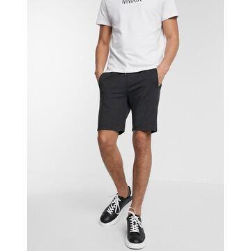 Jack & Jones Intelligence shorts with draw string-Gray