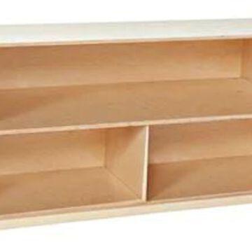 Wood Designs Storage 24H X-Deep 18Versatile Shelf Storage, Birch | Quill