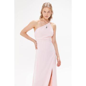 Keepsake Captivating One-Shoulder Maxi Dress
