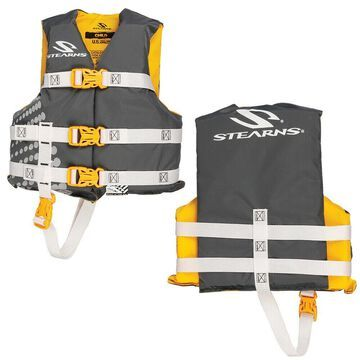 STEARNS 3000002197 CLASSIC CHILD LIFE JACKET 30-50 LBS GOLD RUSH