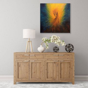 ArtWall Firebird Wood Pallet Art