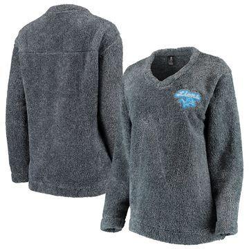 Detroit Lions Concepts Sport Women's Trifecta Pullover Sweatshirt Charcoal