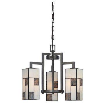Designers Fountain 84183 Bradley 3 Light Down Lighting Chandelier