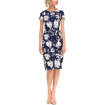 Aerin Linen-Blend Dress