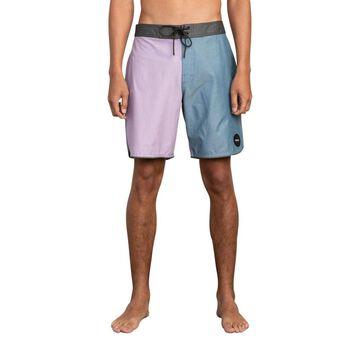 Men's South Eastern Stretch Colorblocked Swim Trunks