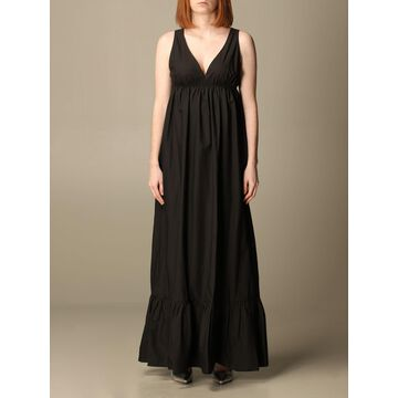Manila Grace long dress with flounces