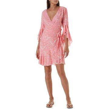 Melissa Odabash Kirsty Short Wrap Dress