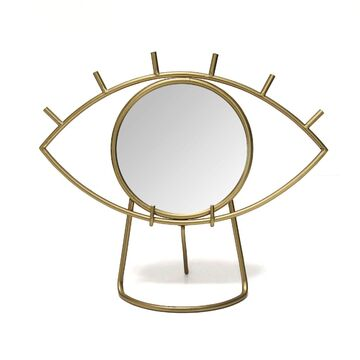 Stratton Home Decor Eye Mirror Table Decor