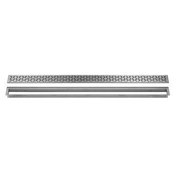 Schluter Systems Kerdi-Line Brushed Stainless Steel Shower Drain   KL1IFE23EB60