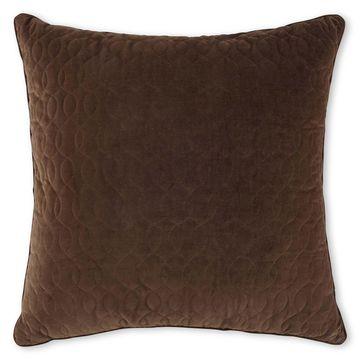 Royal Velvet Colebrook Euro Pillow