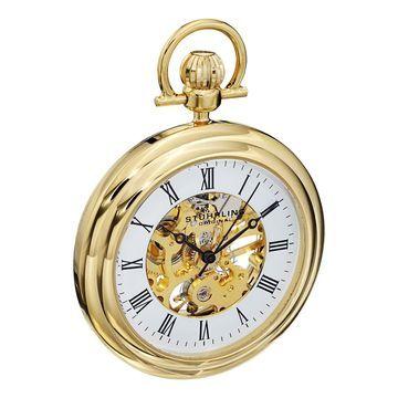 Stuhrling Original Men's Mechanical Vintage Pocket Watch
