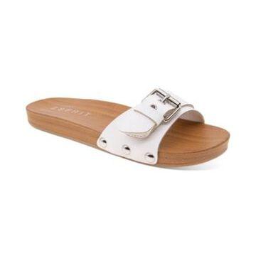 Esprit Winny Wooden Clog Slides Women's Shoes
