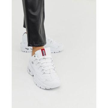 Skechers Energy sneakers in white-Multi