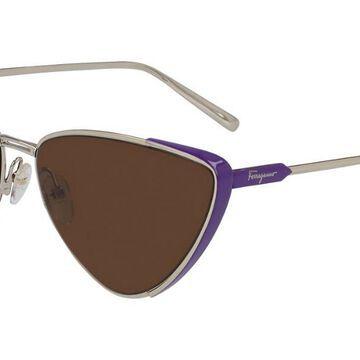 Salvatore Ferragamo SF 206S 736 Womenas Sunglasses Purple Size 63