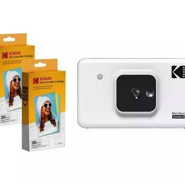 Kodak Mini Shot 2 4Pass Instant Camera &60-Sheet Film