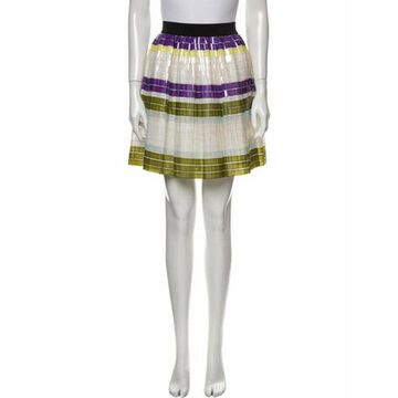 Msgm Silk Mini Skirt Msgm Silk Mini Skirt