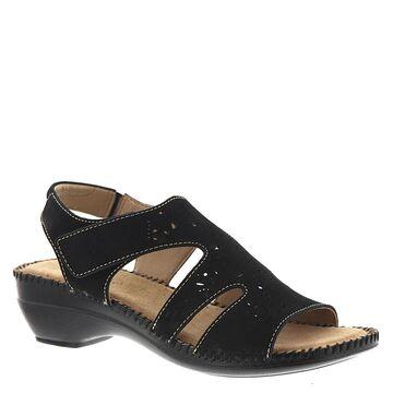 Auditions Ginger Women's Black Sandal 6.5 M