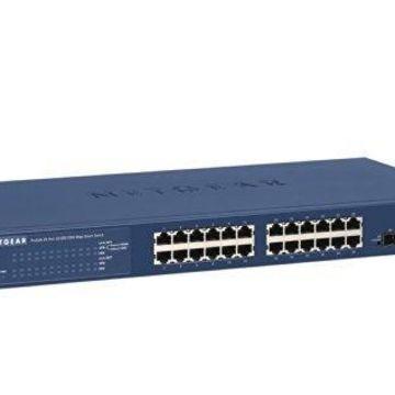 NETGEAR GS724T400NASB NETGEAR ProSAFE GS724T 24-Port Gigabit Smart Switch