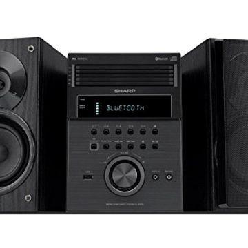 Sharp XL-BH250 Sharp 5-Disc Micro Shelf Executive Speaker System with Bluetooth