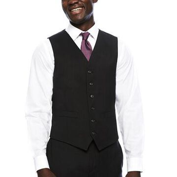 Stafford Travel Wool Blend Stretch Classic Fit Suit Vest