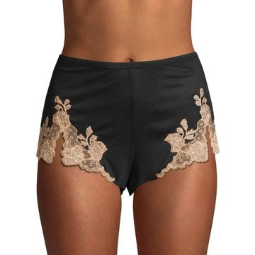 Josie Natori Charlize Lace Embroidered Tap Shorts