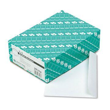 Quality Park Open Side Booklet Envelope #55 6 x 9 White 100/Box 37113