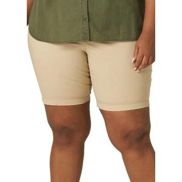 Lee Women's Plus Size Chino Shorts - -