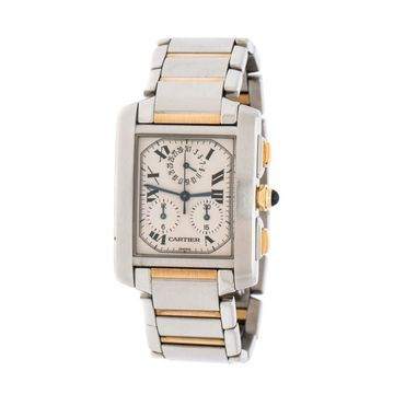 Cartier Tank Francaise Other gold and steel Watches
