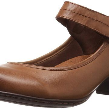 Cobb Hill Womens Abbott Leather Closed Toe Ankle Strap