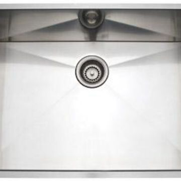Rohl Brushed Stainless Steel Single Bowl Sink