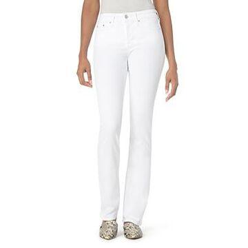 Nydj Marilyn Straight-Leg Jeans in Optic White