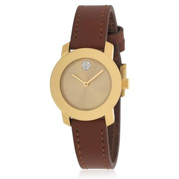 Movado Bold Leather Ladies Watch 3600437
