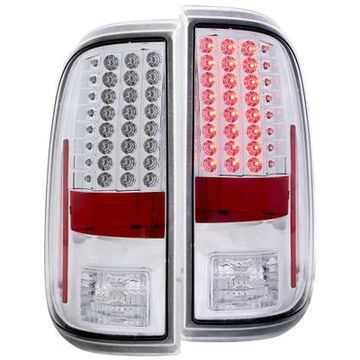 Anzo USA LED Tail Lights in Chrome, LED Tail Lights - 311128