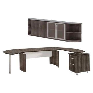 Mayline Medina Series - Suite 10 in Gray Steel