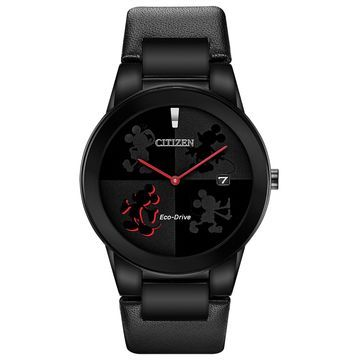 Citizen Mickey Mouse Black Mens Watch