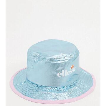 ellesse logo bucket hat in blue - exclusive to ASOS