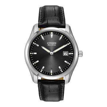 Citizen Corso Mens Black Strap Watch-Au1040-08e