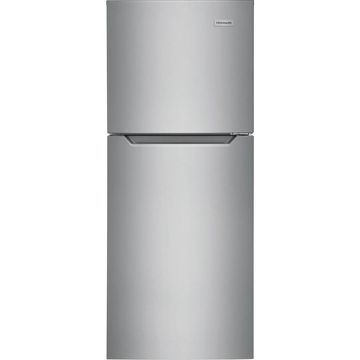 Frigidaire 10.1-cu ft Top-Freezer Refrigerator (Stainless Steel) ENERGY STAR