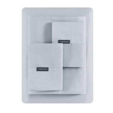 Vera Wang Repose Wellness Solid 4 Piece Sheet Set, Queen Bedding