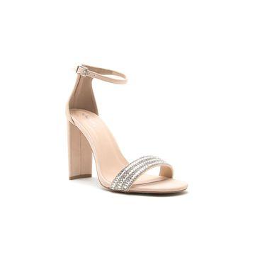 Qupid Womens Elsi-10 Heeled Sandals