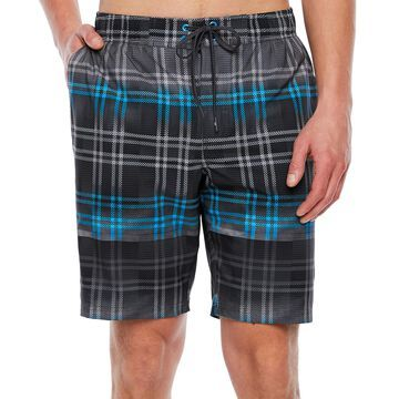 Zeroxposur Plaid Board Shorts