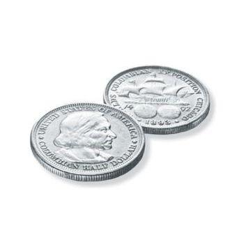 American Coin Treasures America's First Commemorative Coin - The Columbian Exposition Silver Half Dollar