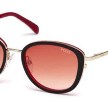Emilio Pucci EP0047-O 05T Womenas Sunglasses Black Size 52