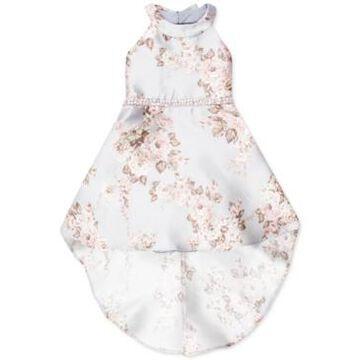 Speechless Little Girls Floral-Print High-Low Dress