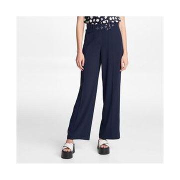 Karl Lagerfeld Paris Belted Wide Leg Pants